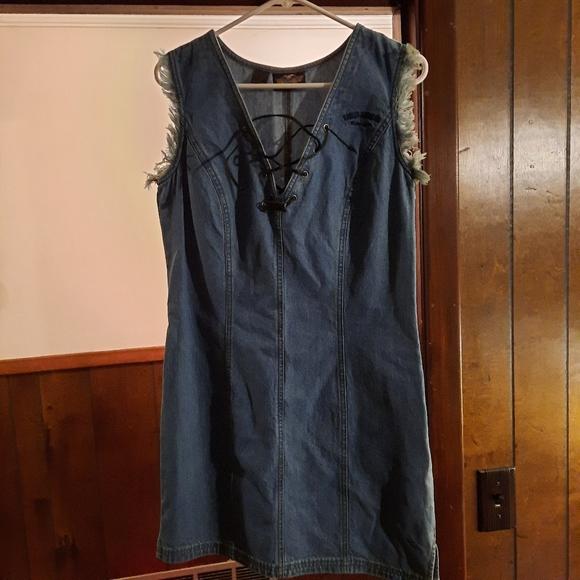 Harley-Davidson jean dress